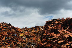 Scrap yard in Amsterdam Royalty Free Stock Image