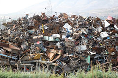 Scrap yard Stock Photos