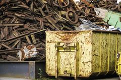 Scrap Yard Stock Photos