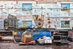 Scrap yard Stock Images