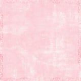 scrapbook предпосылки розовый мягкий Стоковые Фотографии RF