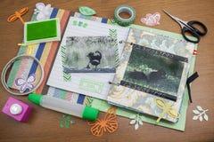 scrapbook foto de stock