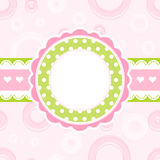 Scrapbook background. Royalty Free Stock Photos