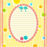 Scrapbook Background Royalty Free Stock Photos