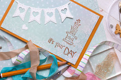 Scrapbook Royalty Free Stock Images