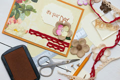 Scrapbook Royalty Free Stock Photography