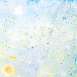 Scrapbook Background watercolor stock photos