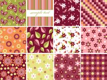 Scrapbook backgrounds Royalty Free Stock Photo