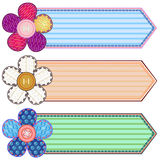 Scrapbook Banners Royalty Free Stock Images
