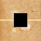 Scrapbook de papel Imagens de Stock