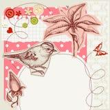 Scrapbook design Stock Images
