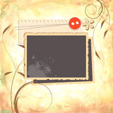 Scrapbook design Stock Photos