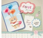 Scrapbook design Royalty Free Stock Photos