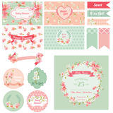 Scrapbook Design Elements Royalty Free Stock Photo