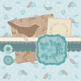 Scrapbook Design Elements - Vintage Birds Stock Photography