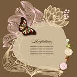 Scrapbook design Stock Photography