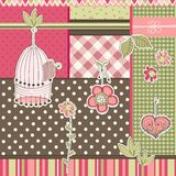Scrapbook elements Stock Images