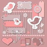 Scrapbook elements Stock Photography