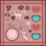 Scrapbook elements Stock Photo