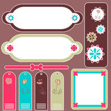 Scrapbook elements Royalty Free Stock Photography