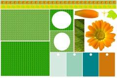 Scrapbook elements Stock Photo