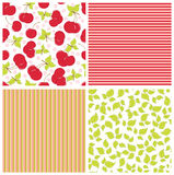 Scrapbook elements. Patterns Stock Photography