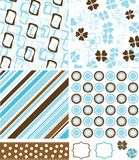 Scrapbook elements and patterns for design,  Royalty Free Stock Photo