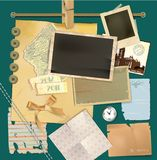Scrapbook elements set Stock Photography