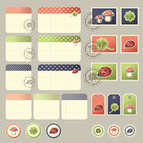 Scrapbook elements Royalty Free Stock Photos