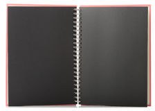 Scrapbook. Empty scrapbook Just put your image or text in a blank space Royalty Free Stock Photos