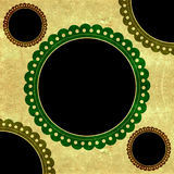 Scrapbook  frame background Royalty Free Stock Images