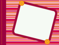 Scrapbook frame Stock Photo