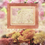 Scrapbook frame Stock Photos