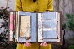 Scrapbook handmade Royalty Free Stock Image