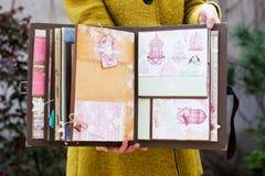 Scrapbook handmade Royalty Free Stock Photography
