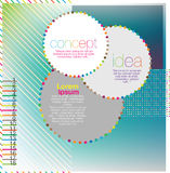 Scrapbook and infographics element Royalty Free Stock Image