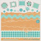 Scrapbook kit Royalty Free Stock Image