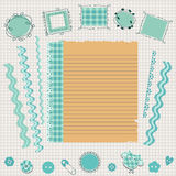 Scrapbook kit Royalty Free Stock Images