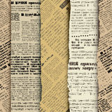 Scrapbook newspaper Stock Photography