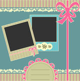 Scrapbook page Royalty Free Stock Photo
