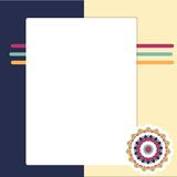 Scrapbook page Royalty Free Stock Photography