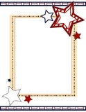 Scrapbook - Patriotic Royalty Free Stock Photography