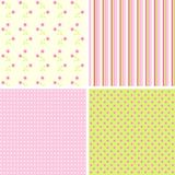 Scrapbook patterns for design,  Royalty Free Stock Photos