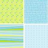 Scrapbook patterns for design,  Stock Images