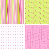 Scrapbook patterns for design,  Royalty Free Stock Photography