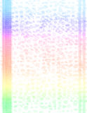 Scrapbook-Rainbow Animal Print Royalty Free Stock Photo