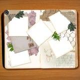 scrapbook rocznik Fotografia Stock