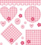 scrapbook set Obraz Stock
