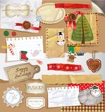 Scrapbook set. Royalty Free Stock Images