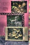 Scrapbook strony rośliny Fotografia Royalty Free